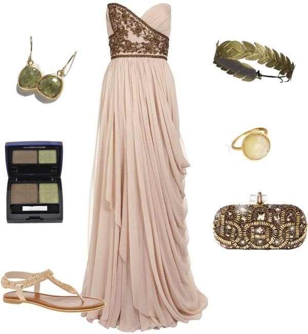 Greek Prom Dresses Uk Pictures Fashion Gallery: From Bouquet To Outfit: Greek Goddess