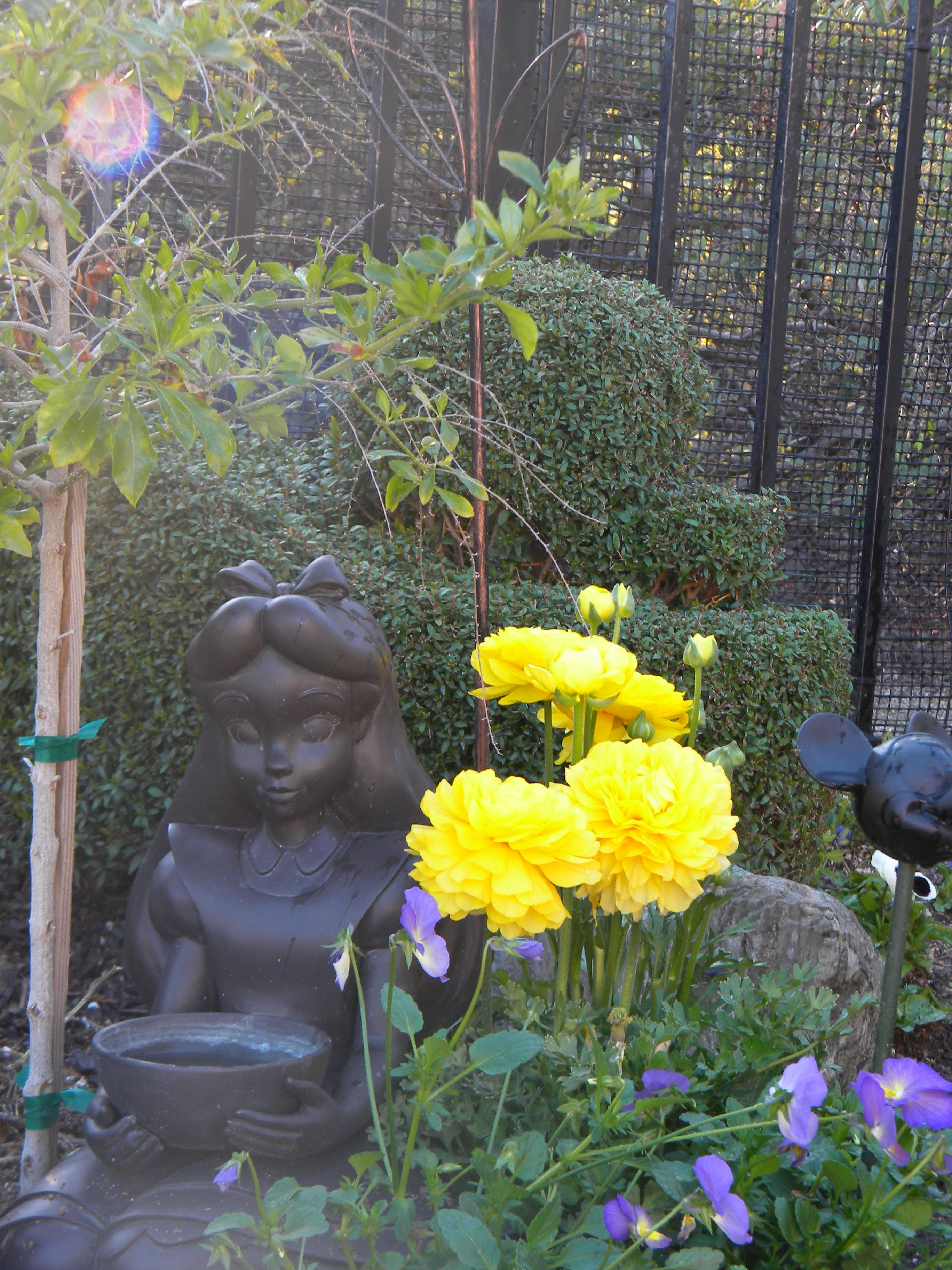 Disney Garden Statues