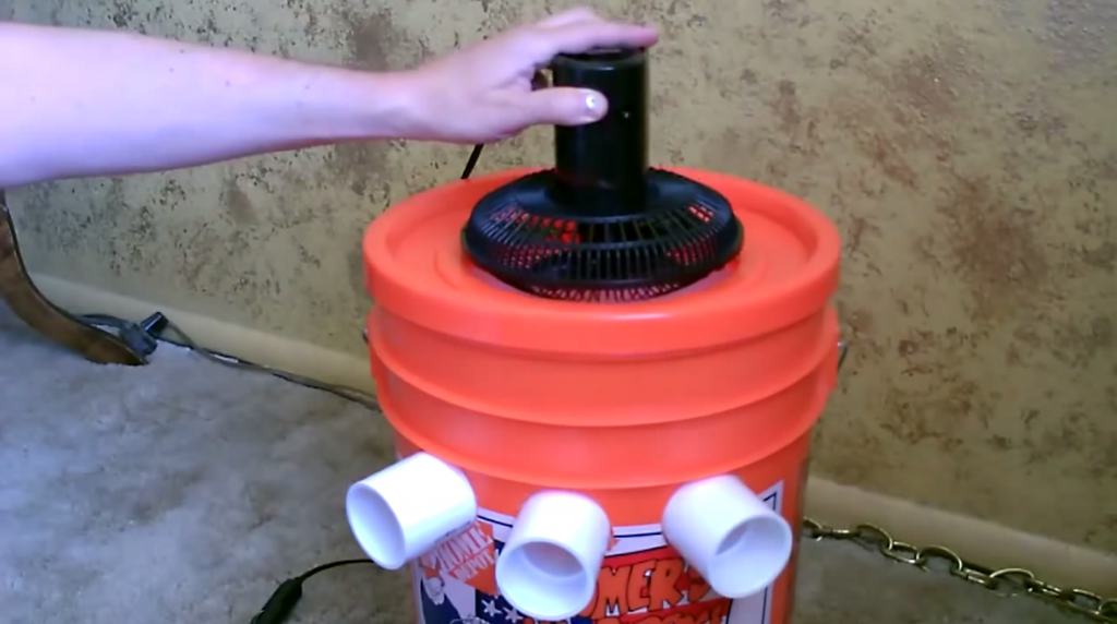 DIY Portable Air Conditioner Diy air conditioner
