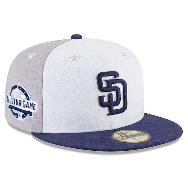 new style 476a1 98122 ... where to buy mens san diego padres new era white blue 2018 mlb all star  game