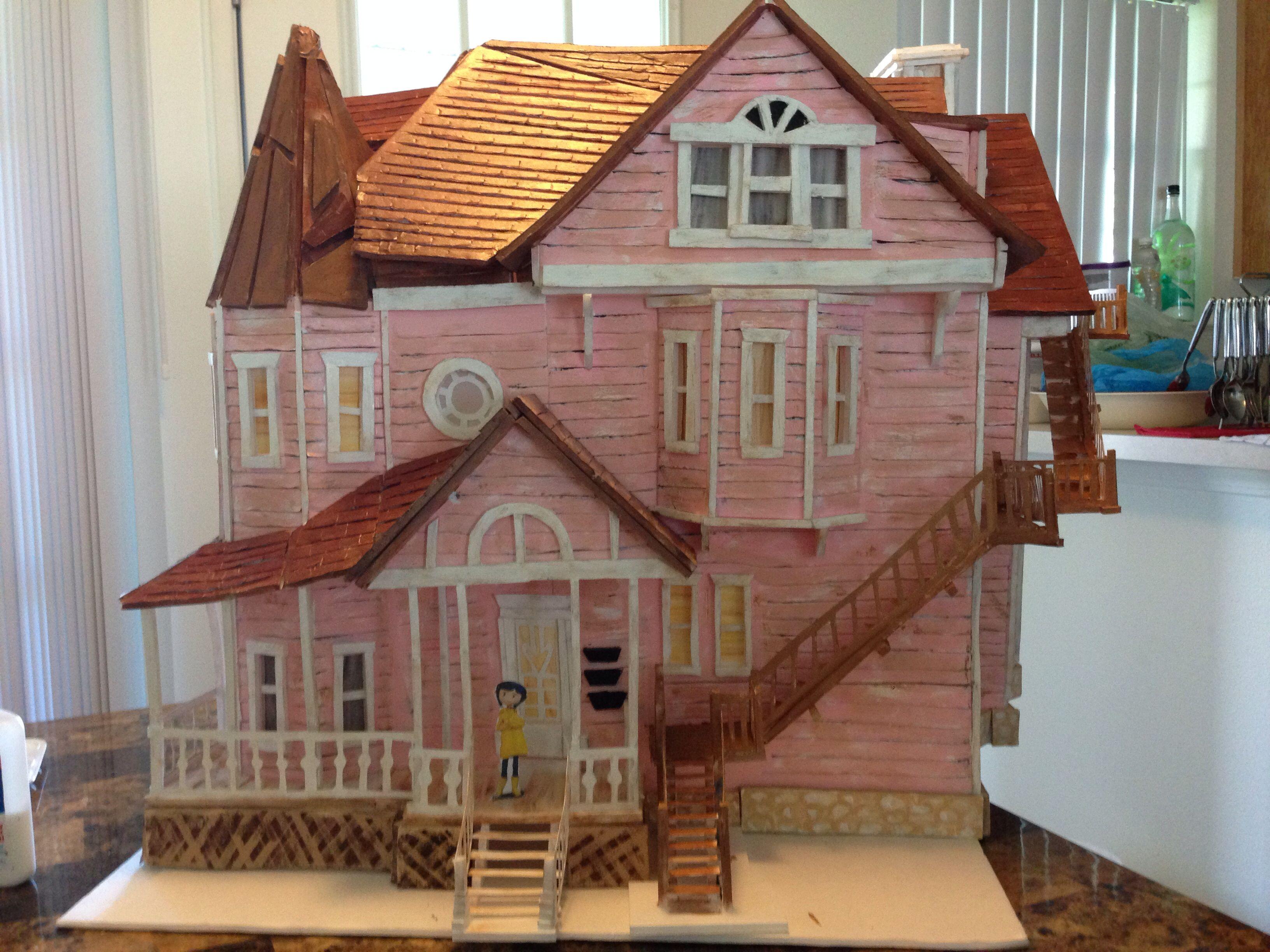 Coraline Pink Palace Coraline Quarto De Brinquedos Filme Coraline