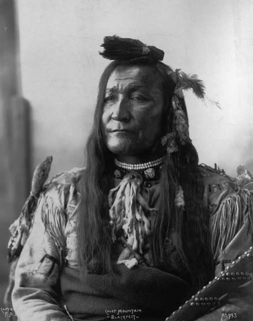 Mountain Chief - Blackfeet (Pikuni) - 1898