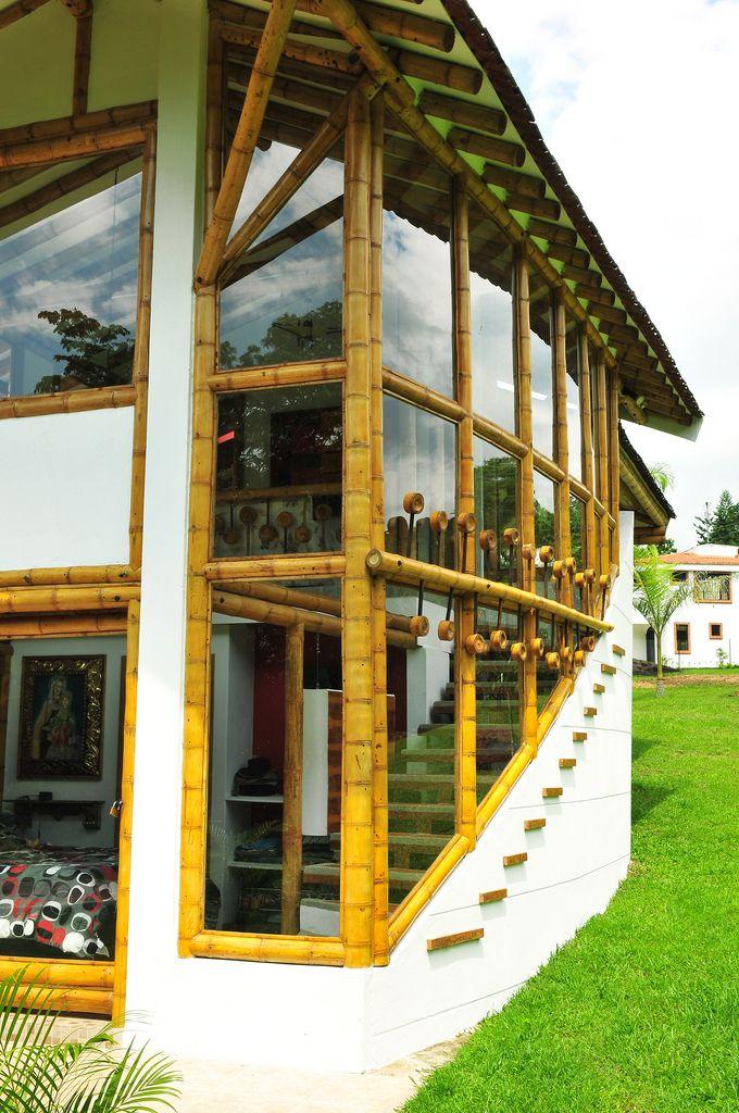 Dise o y construcci n de casa montoya en guadua o bamb - Construccion y diseno de casas ...