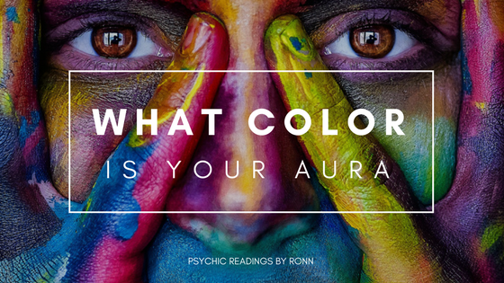 Psychic Readings By Ronn What Color Is Your Aura