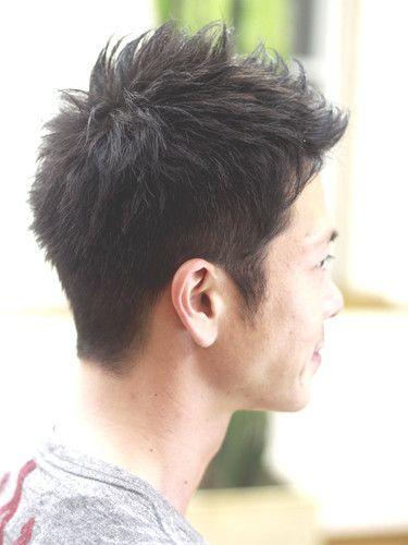 クール刈り上げ:メンズ. 髪型の男性