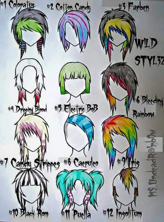 anime hair stlyes xp fashion