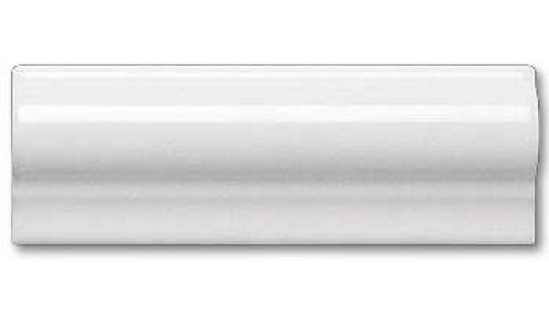 White Gloss Dado Border Tile 5x15cm Bathroom Pinterest