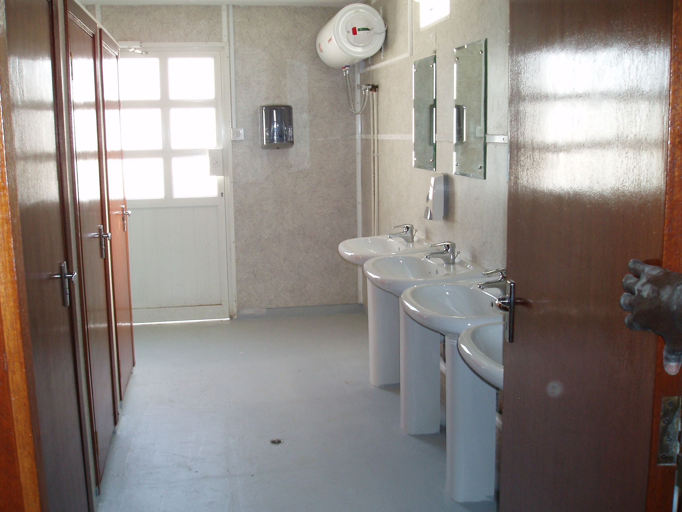 ablution unit interior portable chemical toilet www