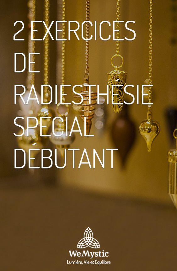 2 Exercices De Radiesthesie Special Debutant Wemystic France Voyance Carte Radiesthesie Pendule Divinatoire