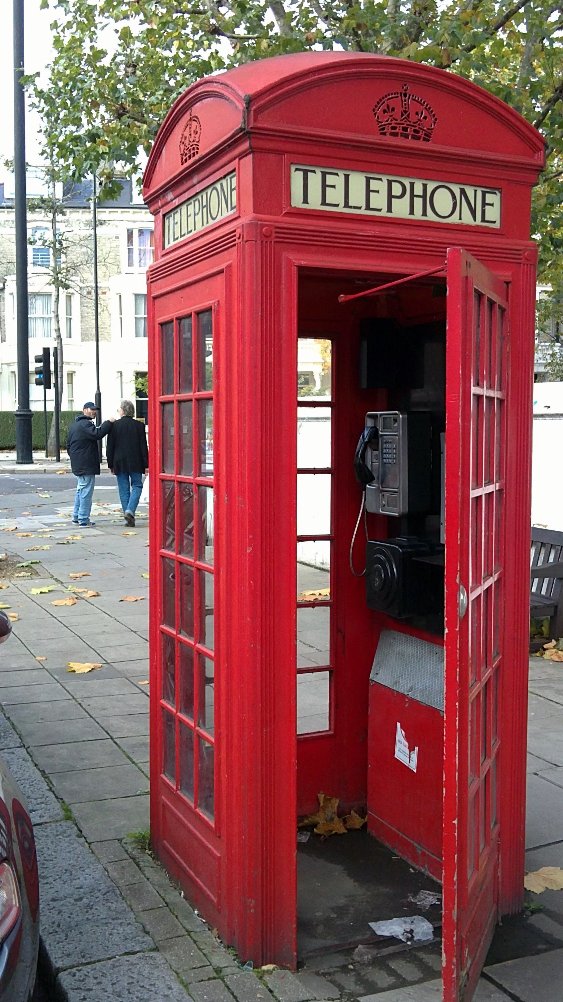 Old Skool Phone Booth Phone Box Telephone Booth