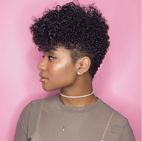 The Perfect Braid Out On A Tapered Cut All Hairstyles Curling
