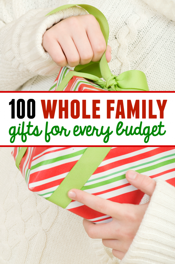 100 Family Gift Ideas With Something For Every Budget The Measured Mom Family Christmas Gifts Family Gifts Diy Christmas Gifts