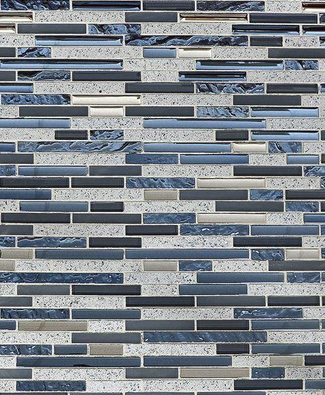 Best Blue Gray Color Glass Quartz Mosaic Tile Backsplash Com 400 x 300