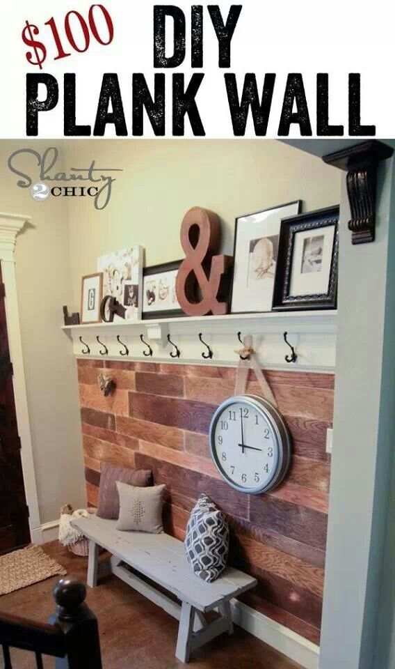 Weu0027re in love with this DIY plank