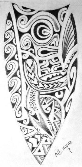 Tatouage Polynésien » Dessin Tatoo Maori