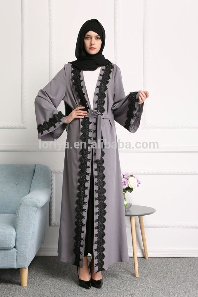 ed639f703dcf Modern muslim women best sell abaya latest design islamic clothing dubai  style front open abaya