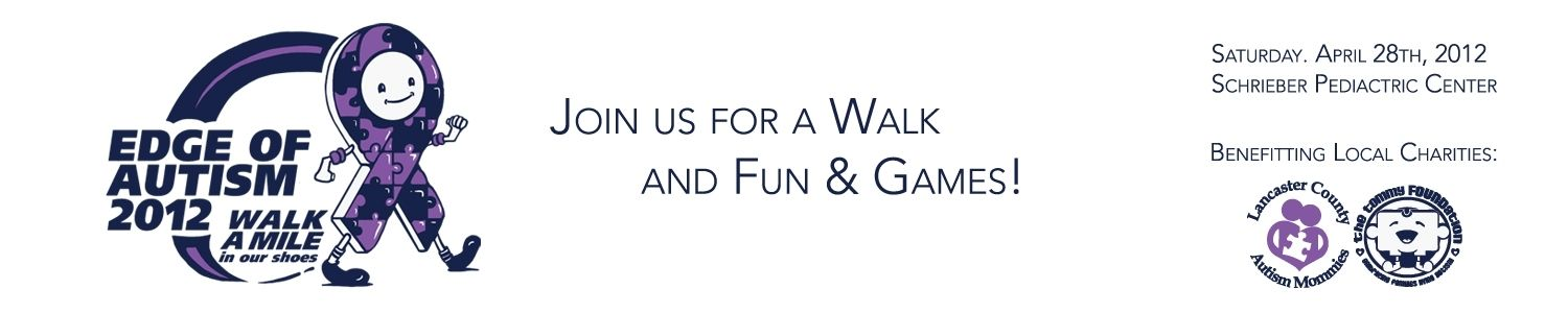 We are walking for autism...April 28th 2012...Go to the link below and to send a donation look for Team Auston !!!