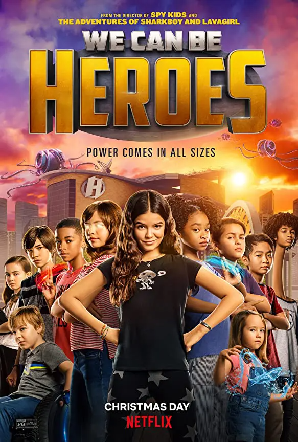 🎬We Can Be Heroes [TRAILER] Coming to Netflix January 1, 2021