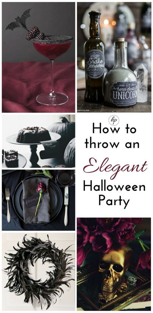 How to Throw an Elegant Halloween Party | highendpennies
