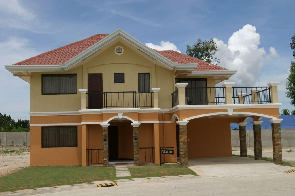 Simple And Nice Double Story Part 9 Two Story House Designs Philippines 2 Storey House Design Simple House Design Philippines House Design