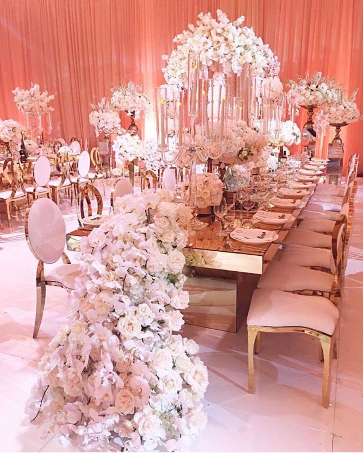 Luxury wedding decoration ideas  backdrop good idea  One day  Pinterest  Event decor Wedding