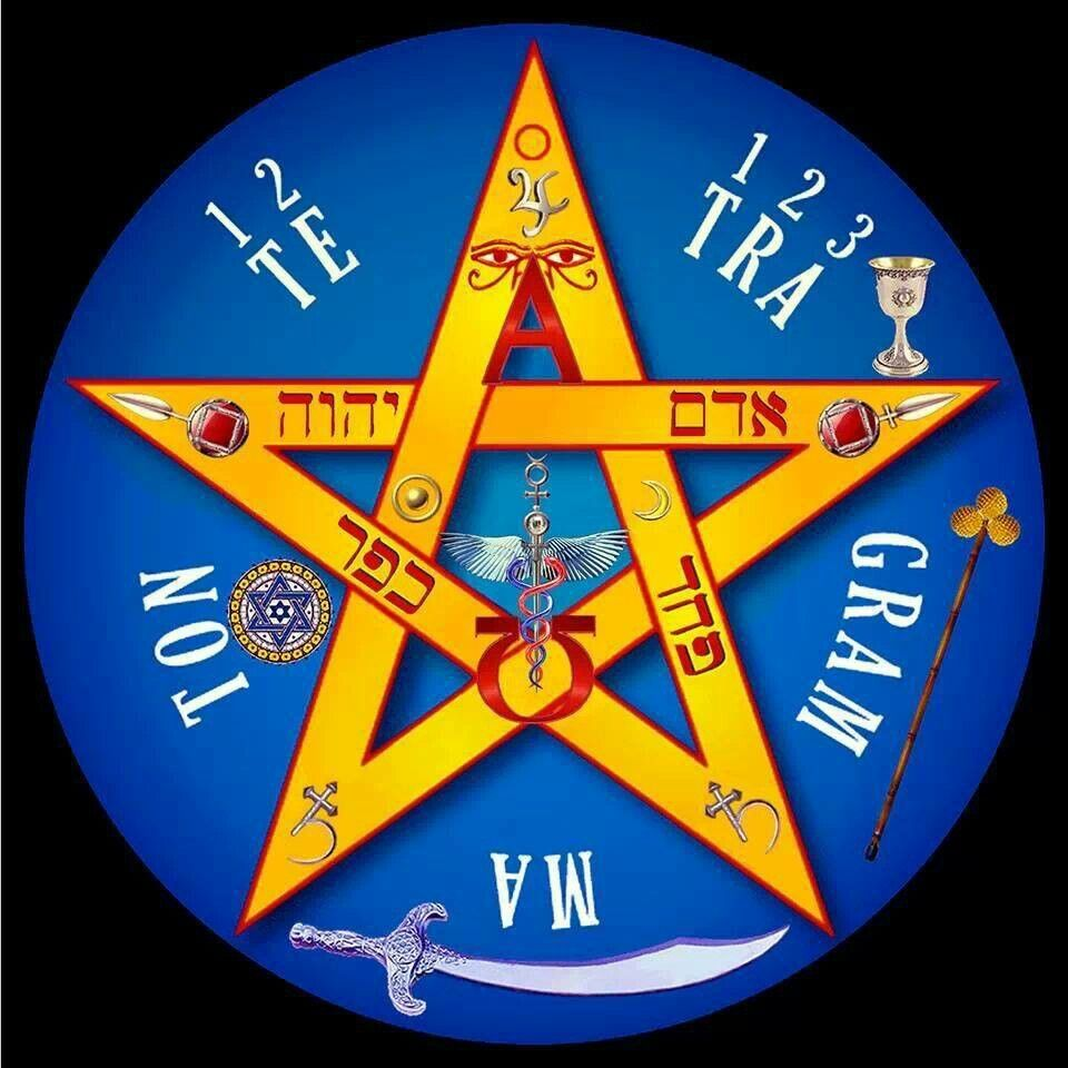 El pentagrama con la punta
