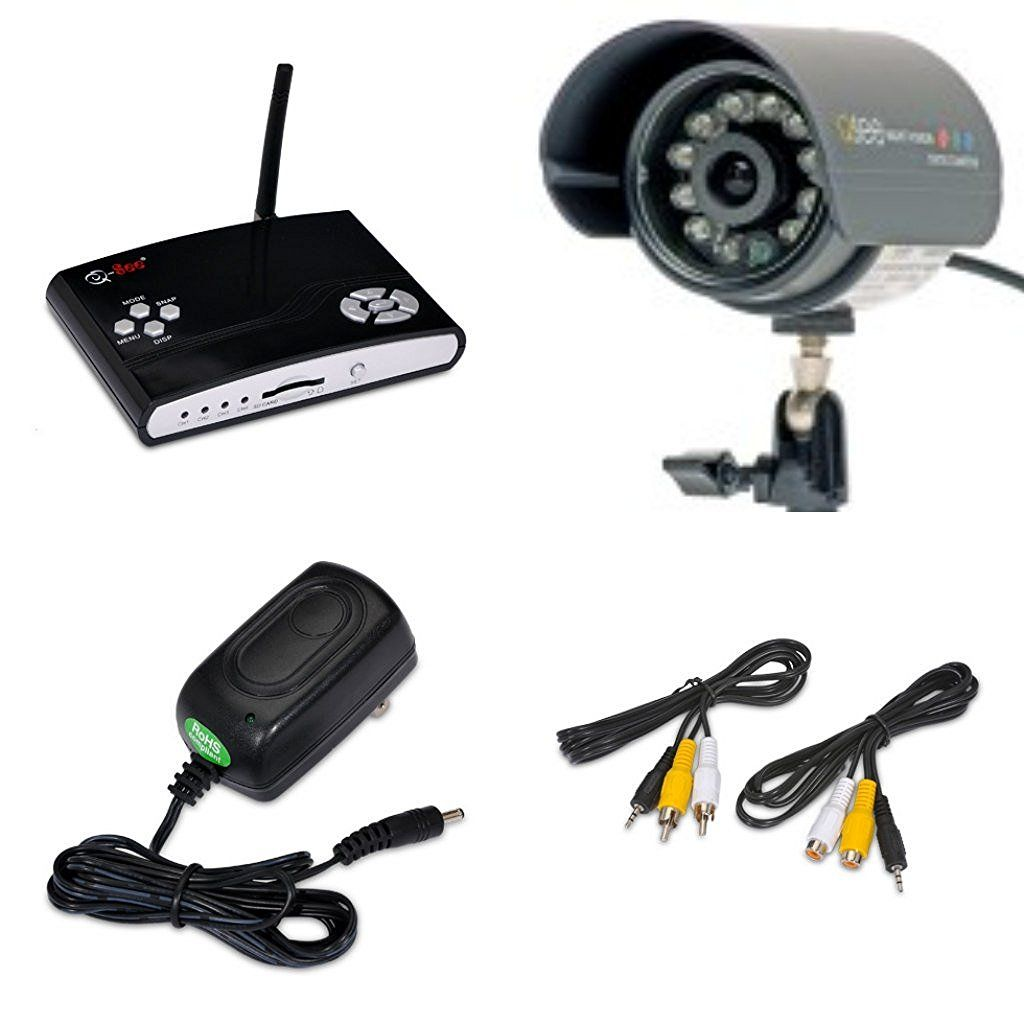 Q see surveillance indoor outdoor security system dvr kit 1 q see surveillance indoor outdoor security system dvr kit 1 wireless video recorder with 1 wired weatherproof night vision cmos color led camera with solutioingenieria Images