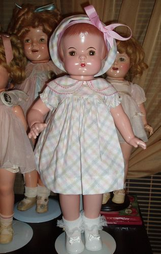 """BEAUTIFUL 1930's Effanbee PATSY ANN Composition Doll- 19""""- EXCELLENT"""