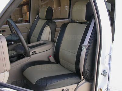 Chevy Tahoe 2000 2006 S Leather Custom Fit Seat Cover 13 Colors