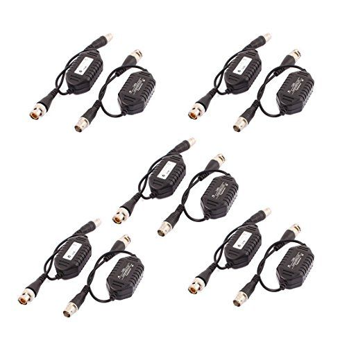 uxcell 10 pcs coaxial video ground loop isolator balun bnc
