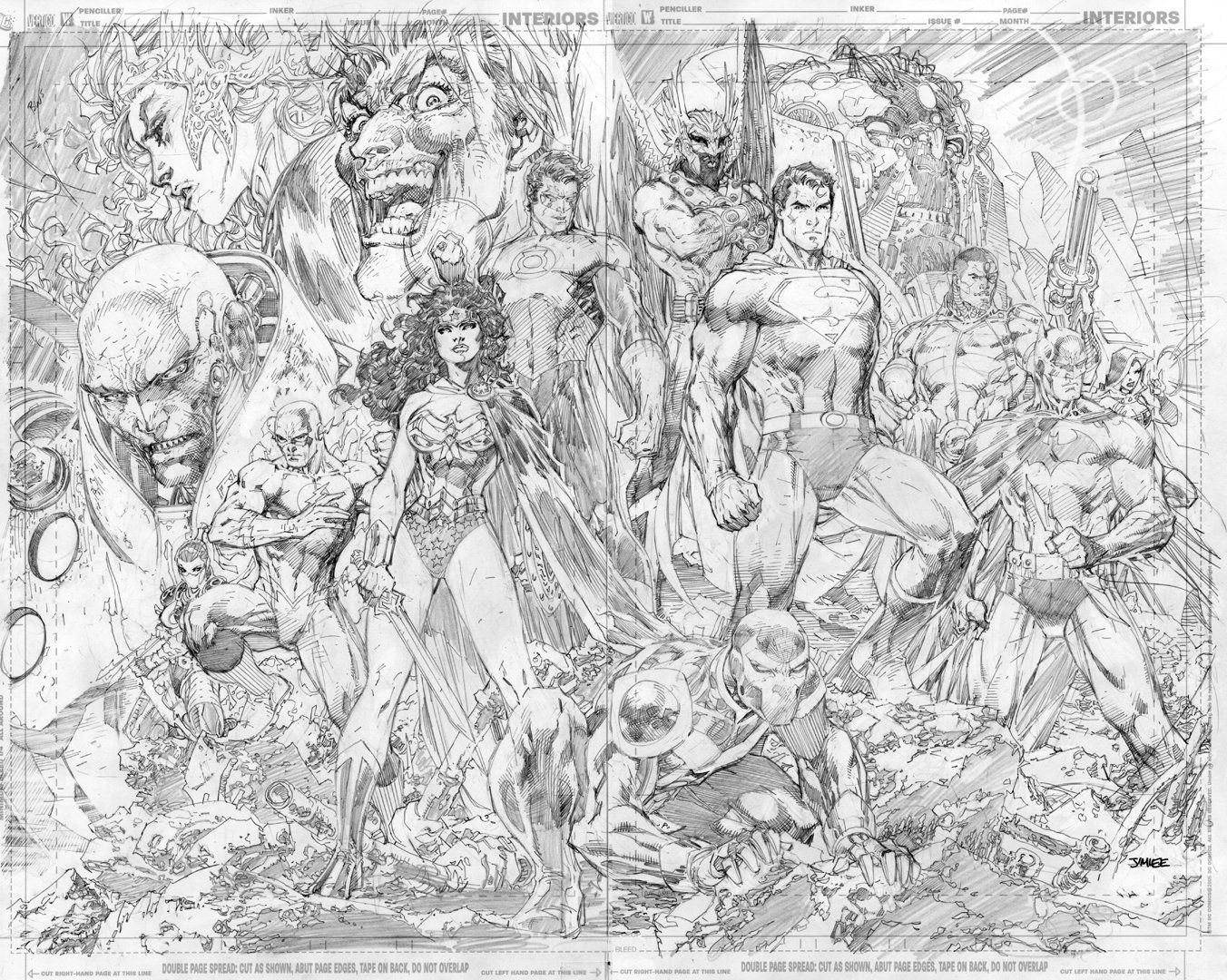Coloring online universe - Dc Universe Online Celebration Art By Jim Lee Covers And Splashes Jim Lee
