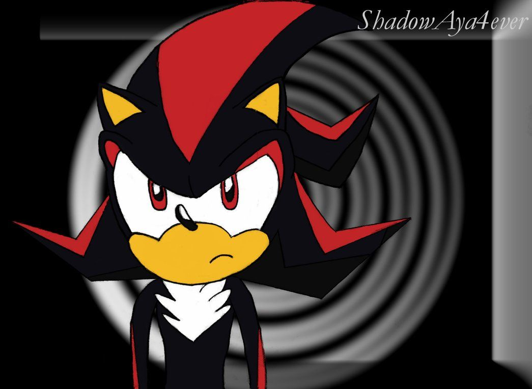 Cool Shadow The Hedgehog | Shadow the Hedgehog - color by ...