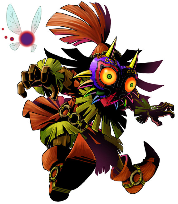 Skull Kid The Legend Of Zelda Majora S Mask 3d Legend Of Zelda Tattoos Majoras Mask Art Legend Of Zelda