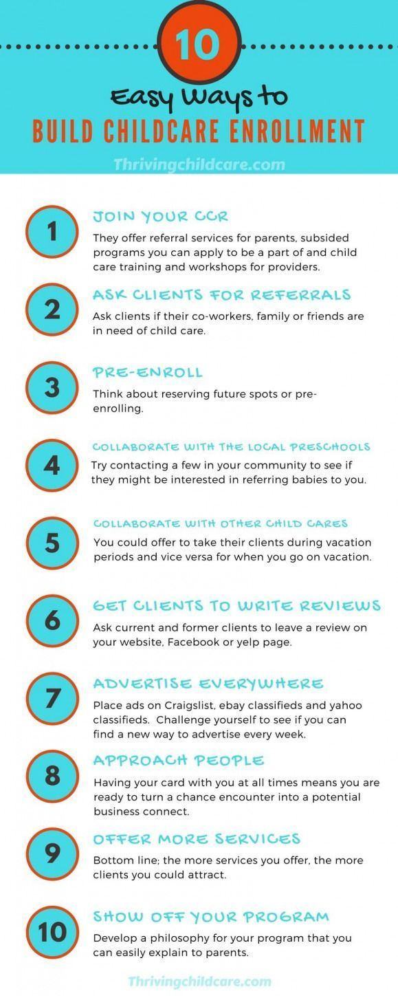 Photo of Check out these 10 Easy Ways to Boost Your Child Care Enrollment! #childcare #ch…