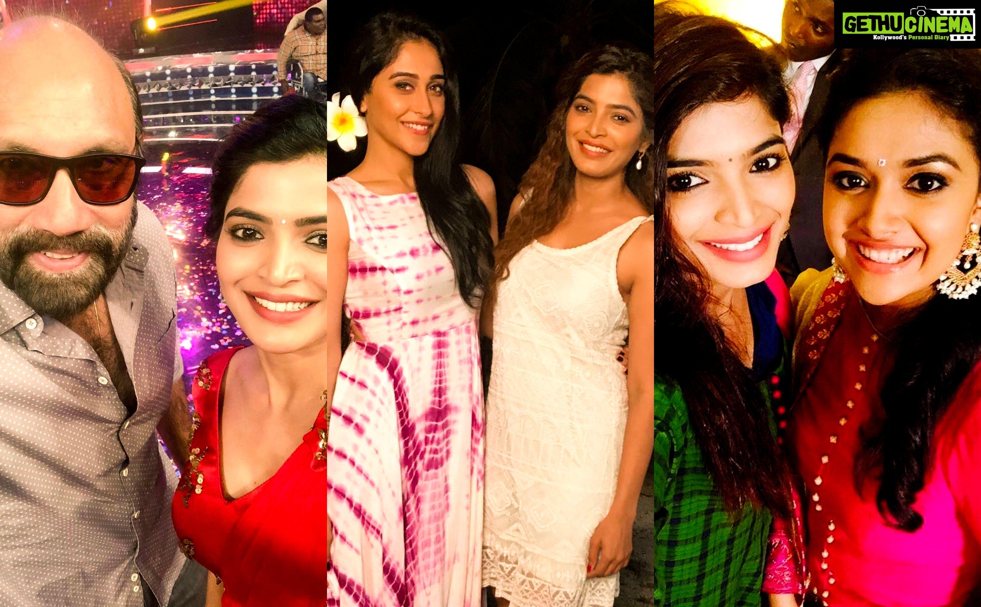 Actress Sanchita Shetty With Celebrities Gethu Cinema Actresses Celebrities All Indian Actress