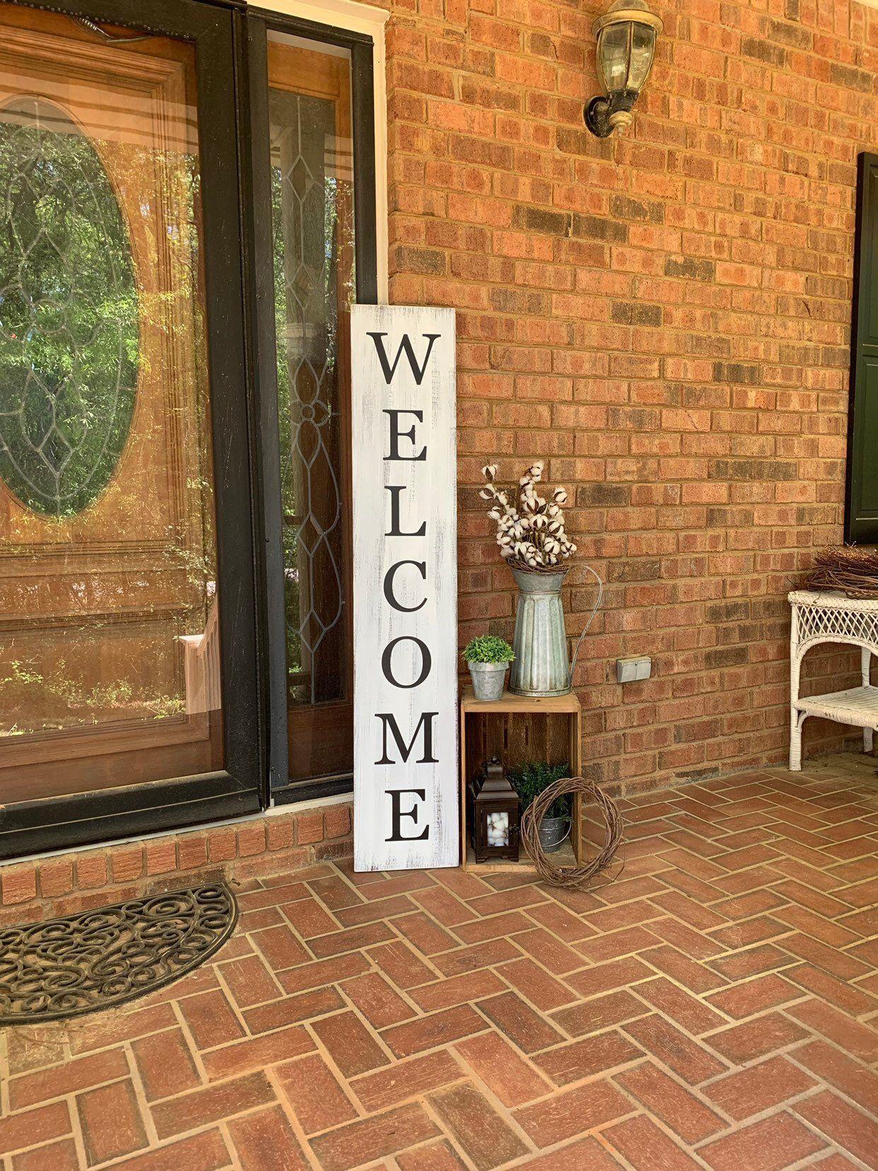5 porch sign vertical porch sign farmhouse