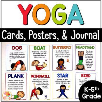 yoga cards for kids  yoga pose cards  printable yoga
