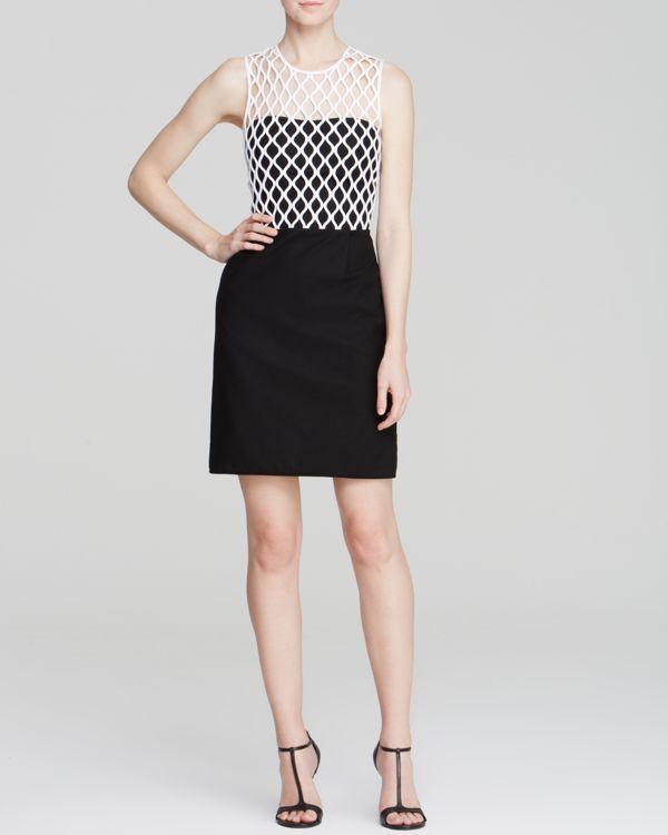 Diane von Furstenberg Dress - Leonora Color Block  fdfca8df334b