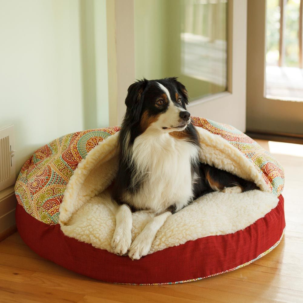 Luxury Orthopedic Cozy Cave® Wag Collection Dog Bed