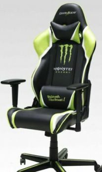 Monster Energy Dx Racer Computer Gaming Chair In 2020 Gaming Computer Monster Energy Gaming Chair