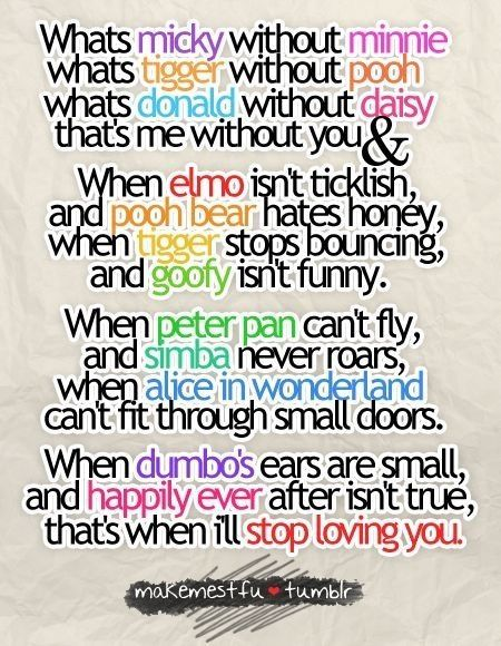 Whats Mickey Without Minnie Disney Cute Quotes Disney