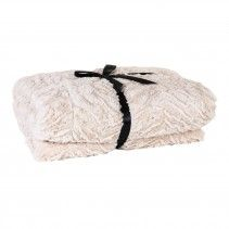Nice Living beige throw / bed cover 240x220 cm Price: 129 euro