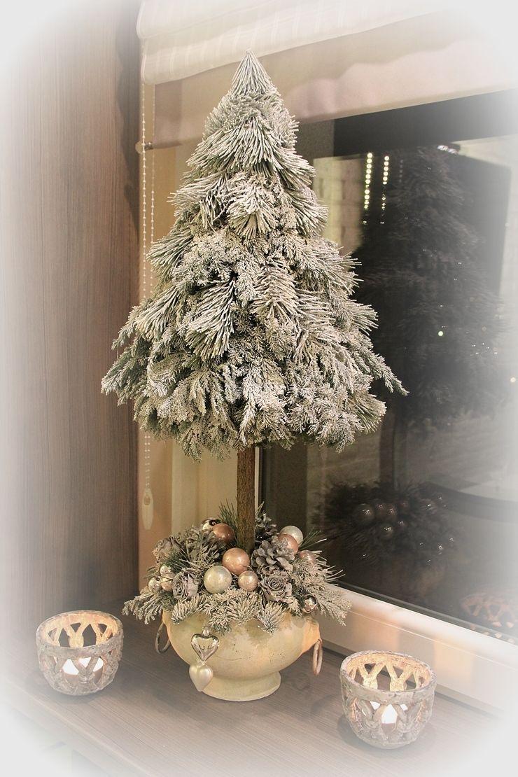 Jak Zrobic Choinke Na Pniu Diy Swiateczne Ih Internity Home Christmas Diy Christmas Centerpieces Christmas Deco