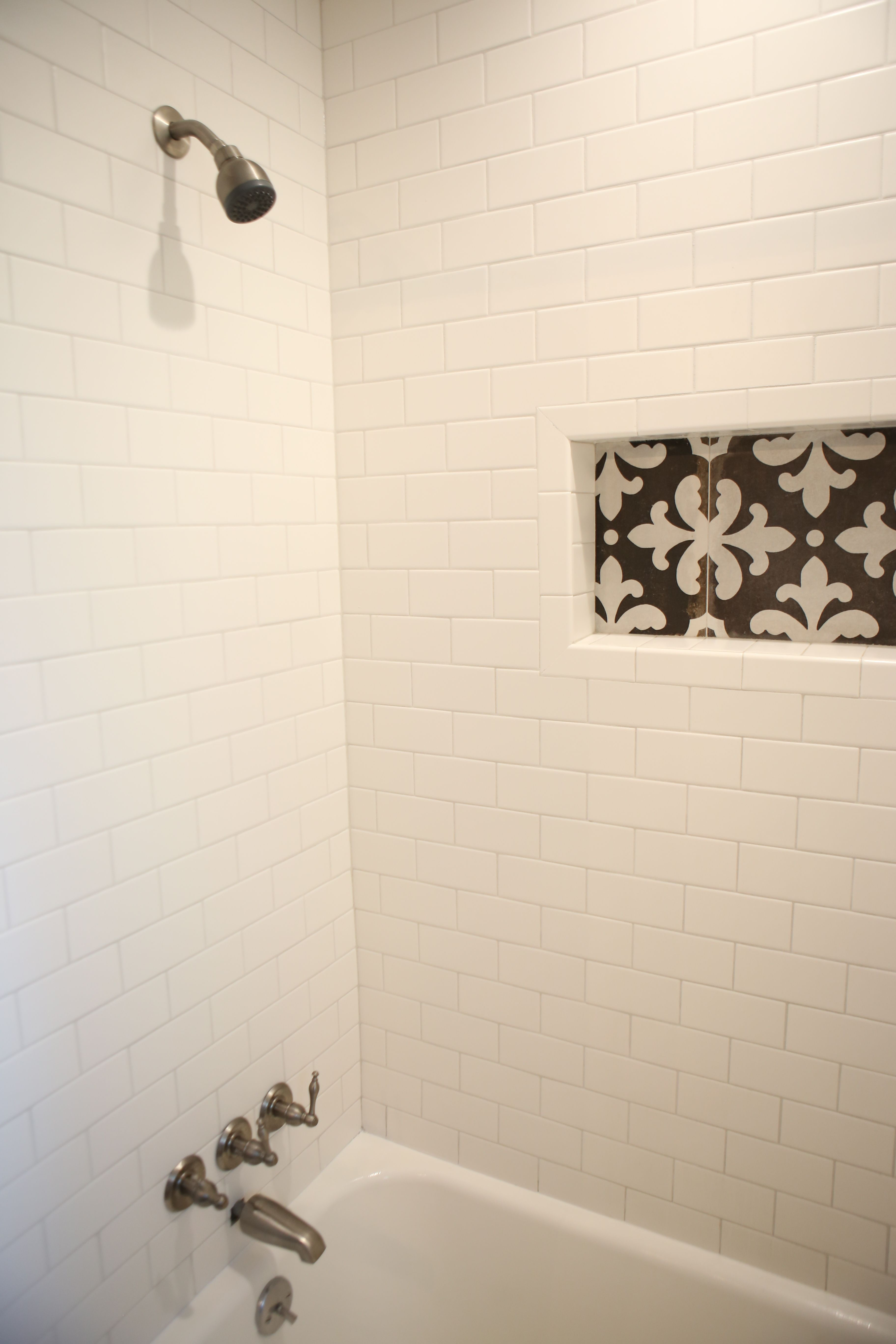 Contrasting tile inset these look to be 8 12 in a list bath contrasting tile inset these look to be 8 12 in dailygadgetfo Images