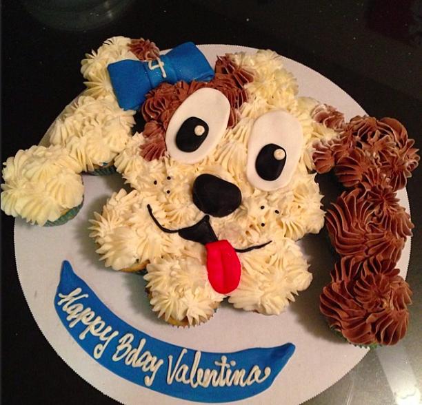 Puppy Face Pull Apart Cake Lorelais 7th Birthday Pinterest