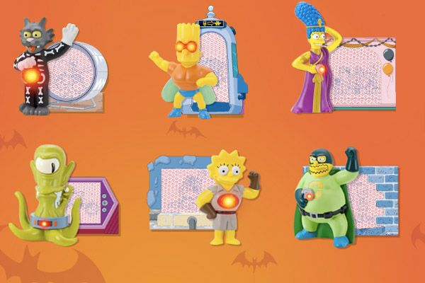 the simpsons memorabilia | ... The Simpsons annual Treehouse of Horror, Halloween 2011 collectibles