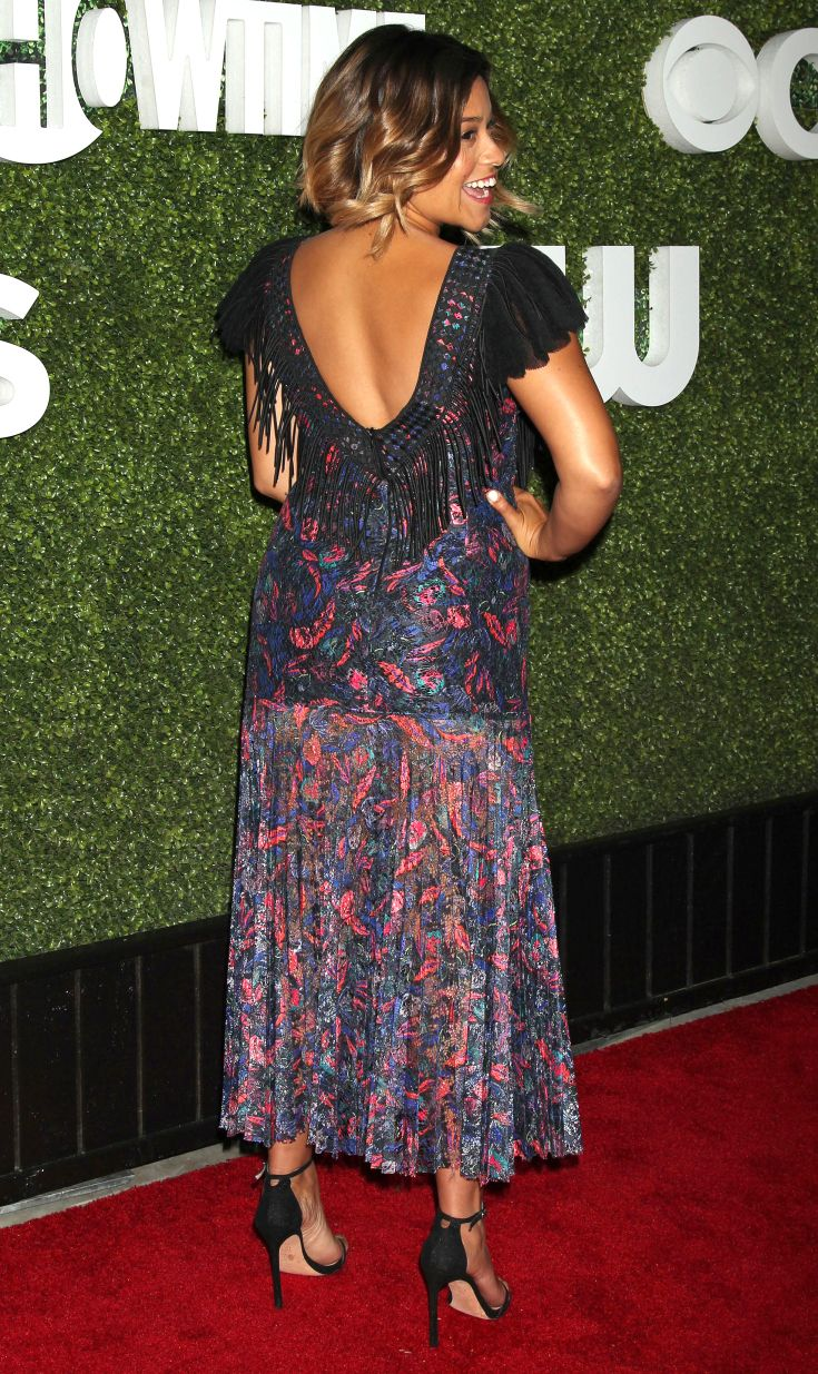 Porn Star Gina Rodriguez Pretty better from the back? stars' most jaw-dropping 360°   gina