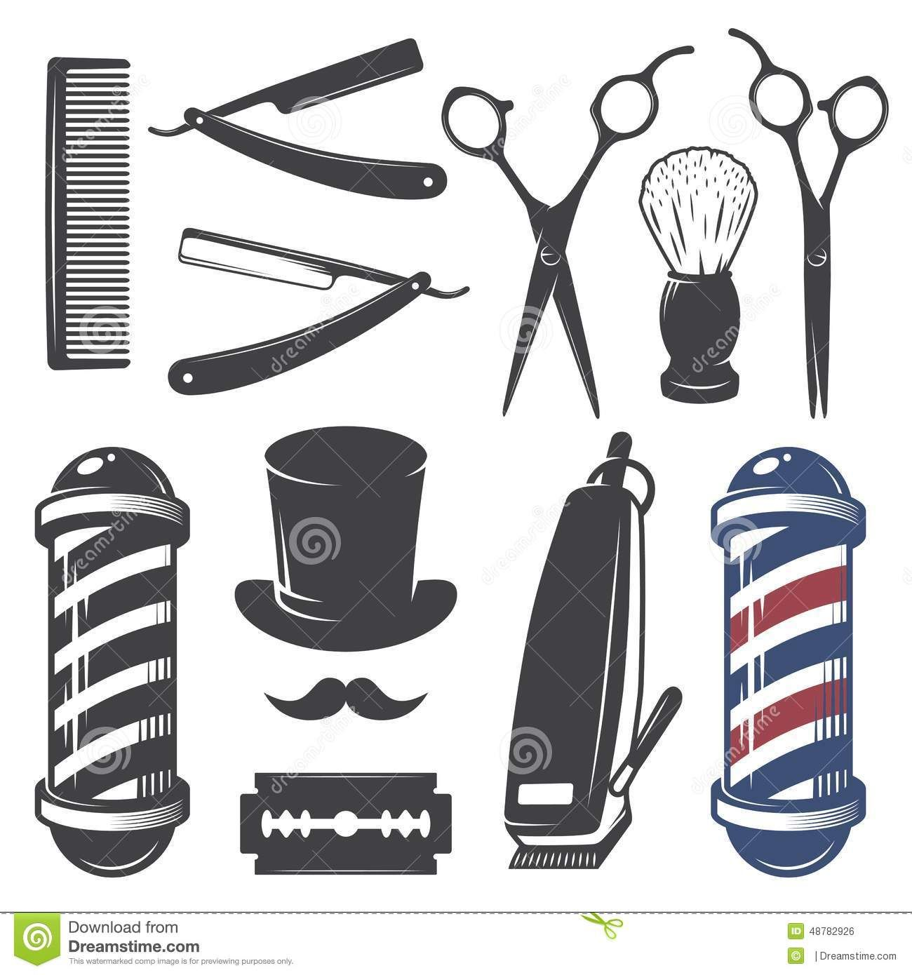 Stencil barbeiro pesquisa google pinterest for Simbolo barbiere