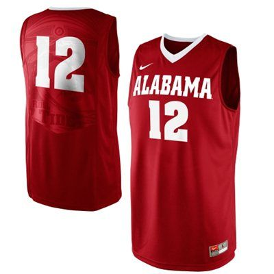 Buy authentic Alabama Crimson Tide merchandise. Team GearBasketball  JerseyAlabama ...