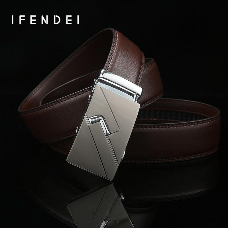 IFENDEI New Brand Designer Belt Men High Quality Genuine Leather ... d60fa94612d